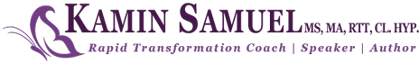 Kamin Samuel ~ Rapid Transformation Coach, Author, Speaker